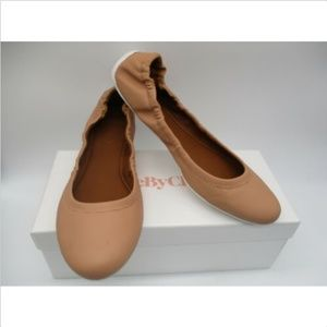 SEE BY CHLOE natural leather flats sz 40 NWB